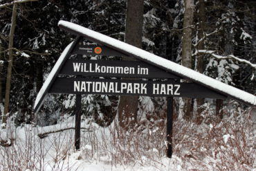 Am Fuße des Brocken werden die Besucher im Nationalpark Harz willkommen geheißen